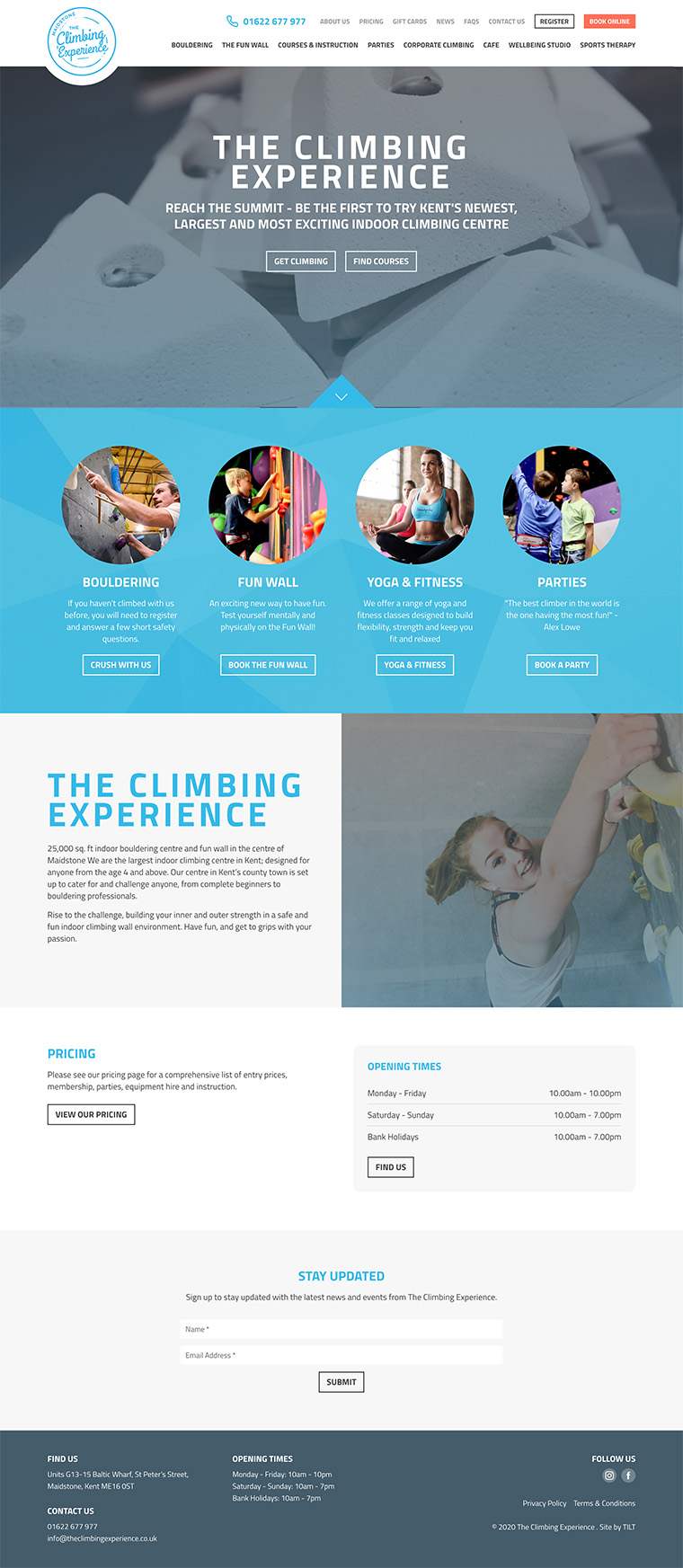 The Climbing Experience